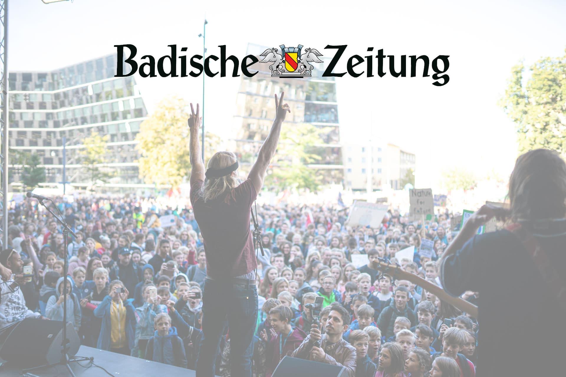 QULT Fridays for Future Freiburg Badische Zeitung