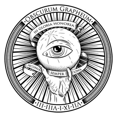 The Dark Agency Shop Logo
